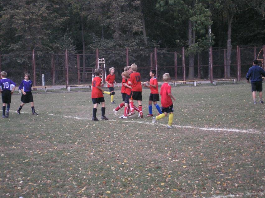 Futbolo varžybų akimirka